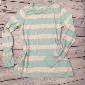 Mossimo Supply Co. Tops - mint stripe shirt